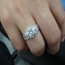 台中流當品拍賣 流當鑽石拍賣 豪華 50分 G色 女鑽戒 喜歡價可議