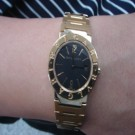 台中流當品拍賣 原裝 BVLGARI B.ZERO1 18K金 女錶 9成5新 特價出清 ZR257