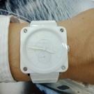 台中當舖流當品 原裝 BELL&ROSS BRS-98 陶瓷 石英 女錶 9成5新 盒單齊全 喜歡價可議 KR006