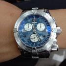 台中當舖流當品拍賣 流當手錶 少有 原裝 BREITLING 百年靈 計時 石英 救難錶 9成5新 喜歡價可議 ZR502